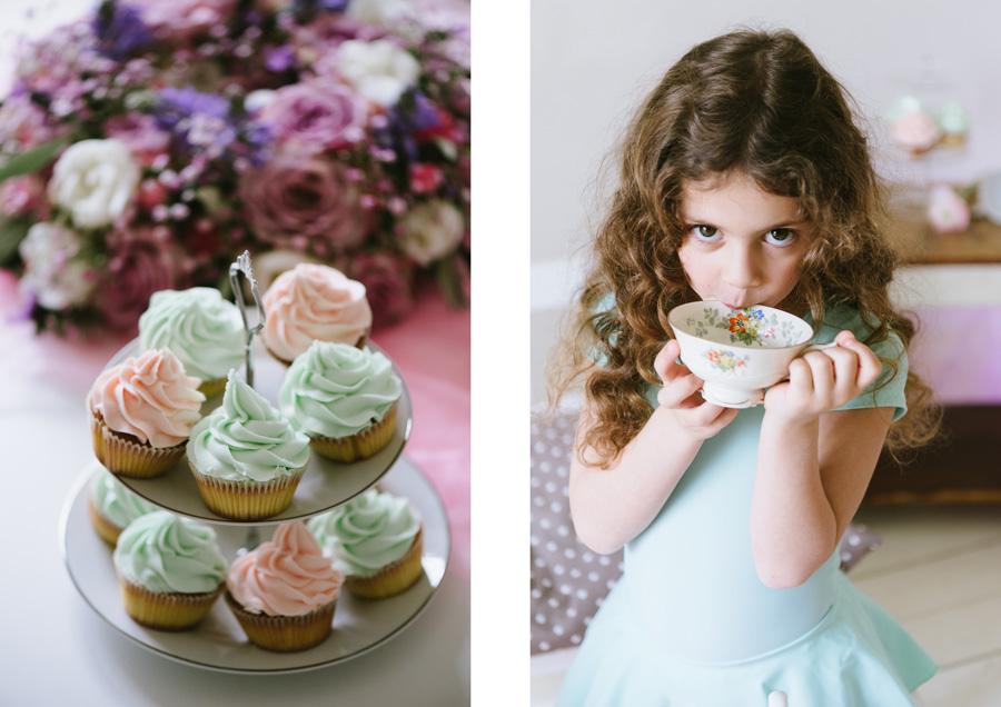Cupcakes, Mädchen, Tee, Tasse, Lifestyle, Fotograf, Kinder, Kathrin Stahl, Hamburg