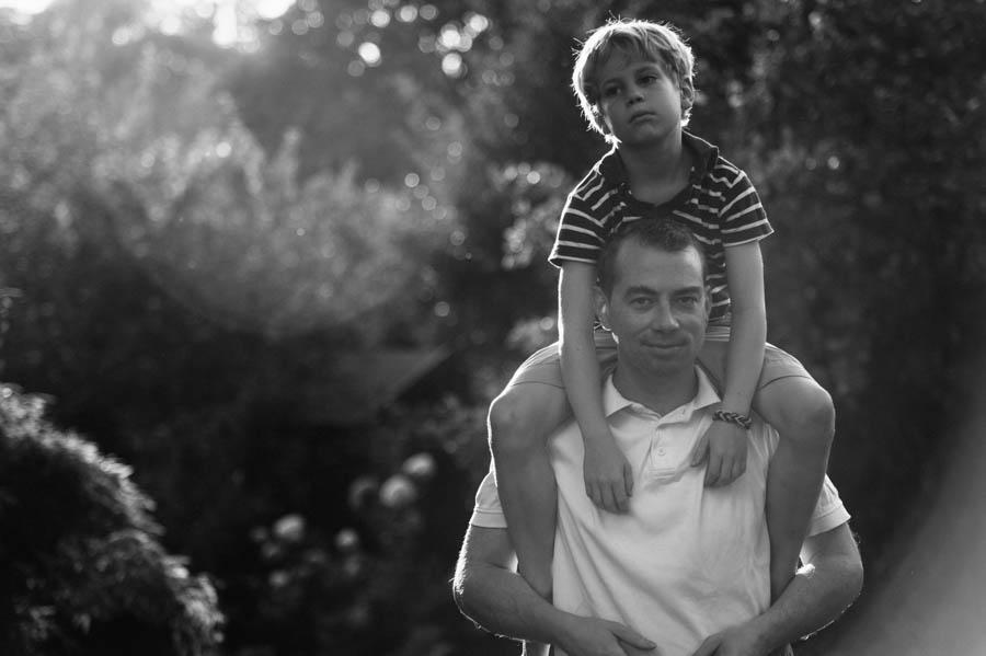 Porträt, Vater, Sohn, schwarz-weiß, Fotograf, Hamburg, Kathrin Stahl