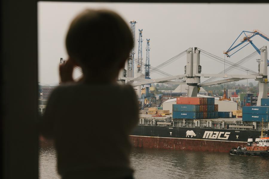 Familie, Kind, Hafencity, Fotograf, Kathrin Stahl