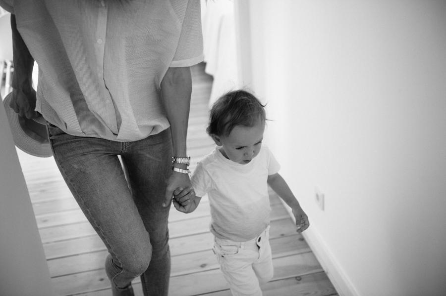Mutter, Sohn, Hand, Foto, Kathrin Stahl