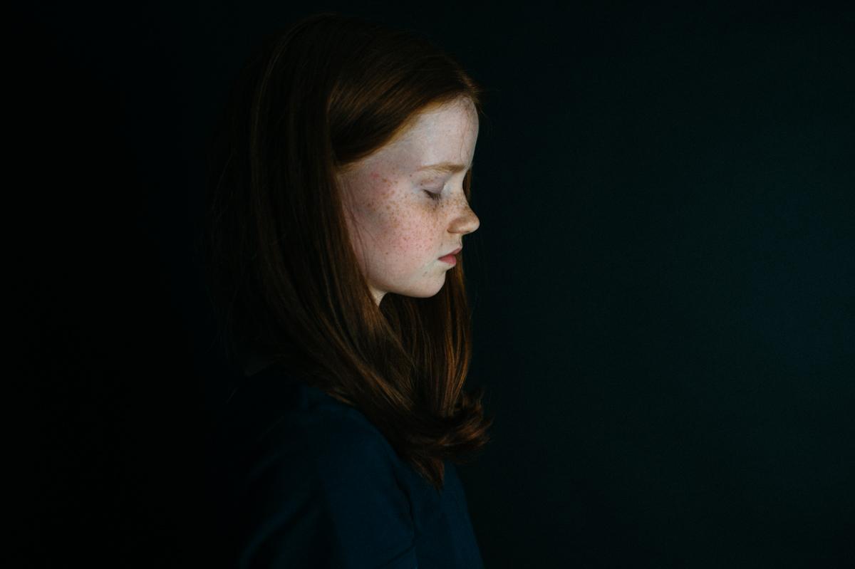Kind, Portrait, Kunst, Kathrin Stahl-2