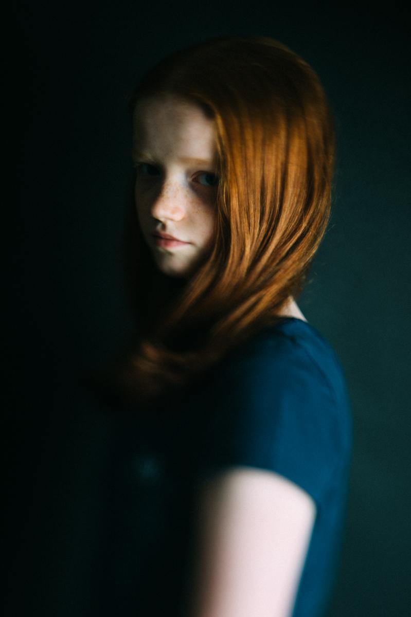Kind, Portrait, Kunst, Kathrin Stahl