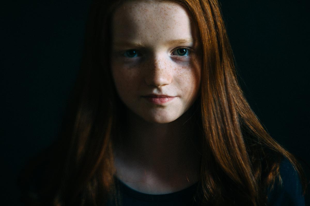 Maedchen, Sommersprossen, Foto, Kathrin Stahl-1