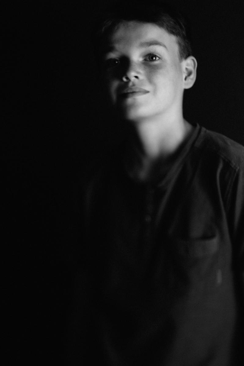 Portrait, schwarzweiß, Kunst, Kathrin Stahl-13