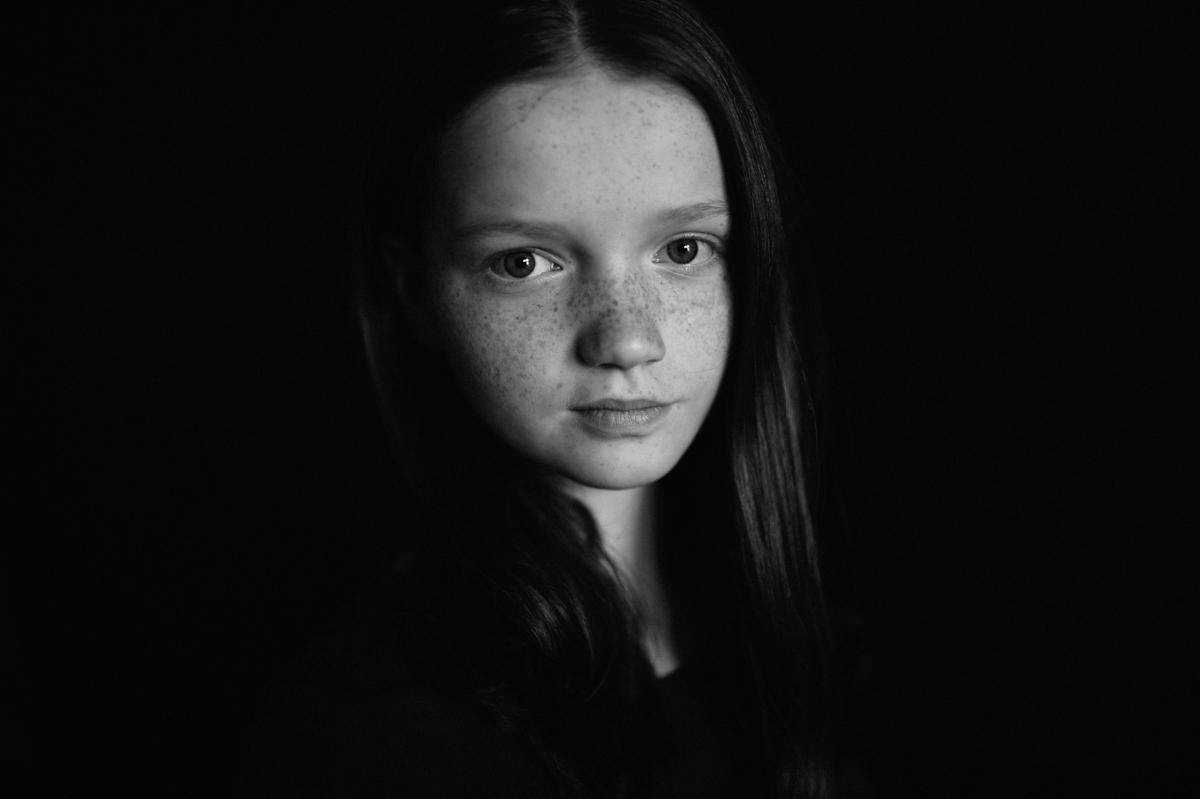 Portrait, schwarzweiß, Kunst, Kathrin Stahl-21