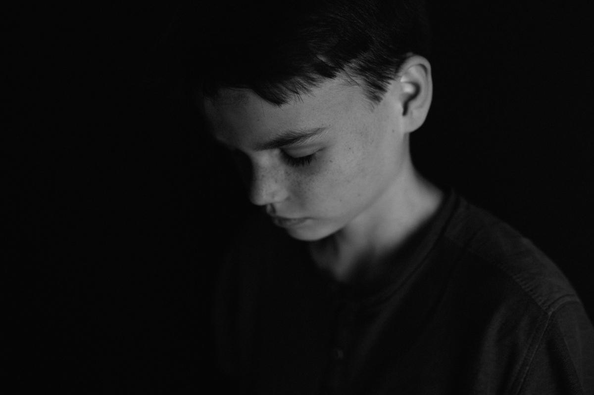 Portrait, schwarzweiß, Kunst, Kathrin Stahl-5