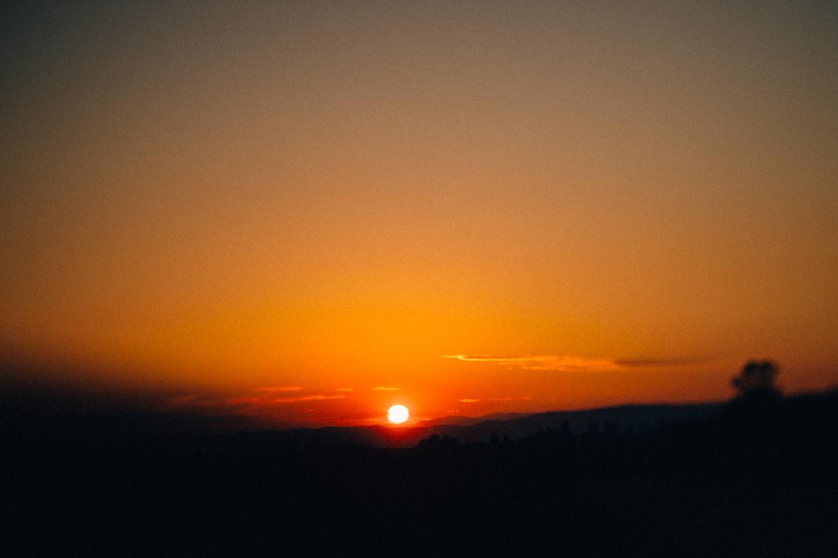 Sonnenuntergang, Grignan, Drome Provencal, Photographe, Kathrin Stahl