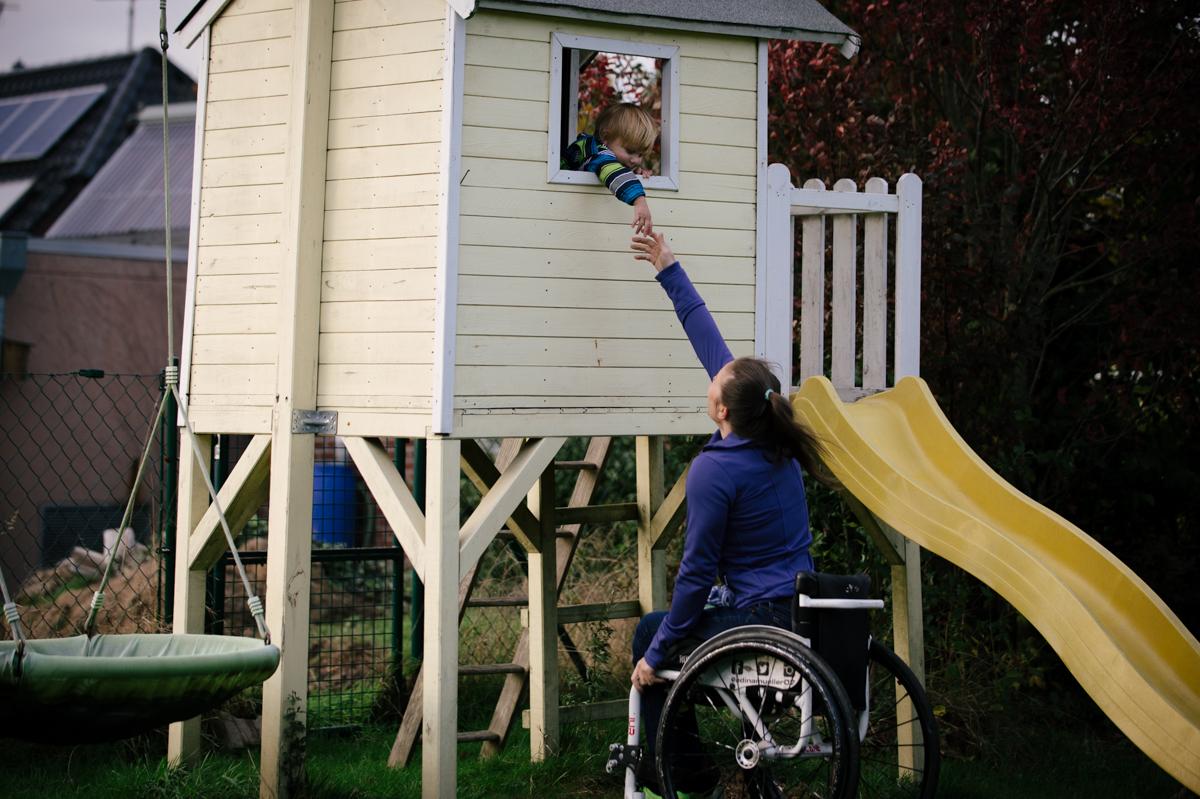 Fotoprojekt Diversity, Eltern mit Behinderung, Ausstellung, Fotos