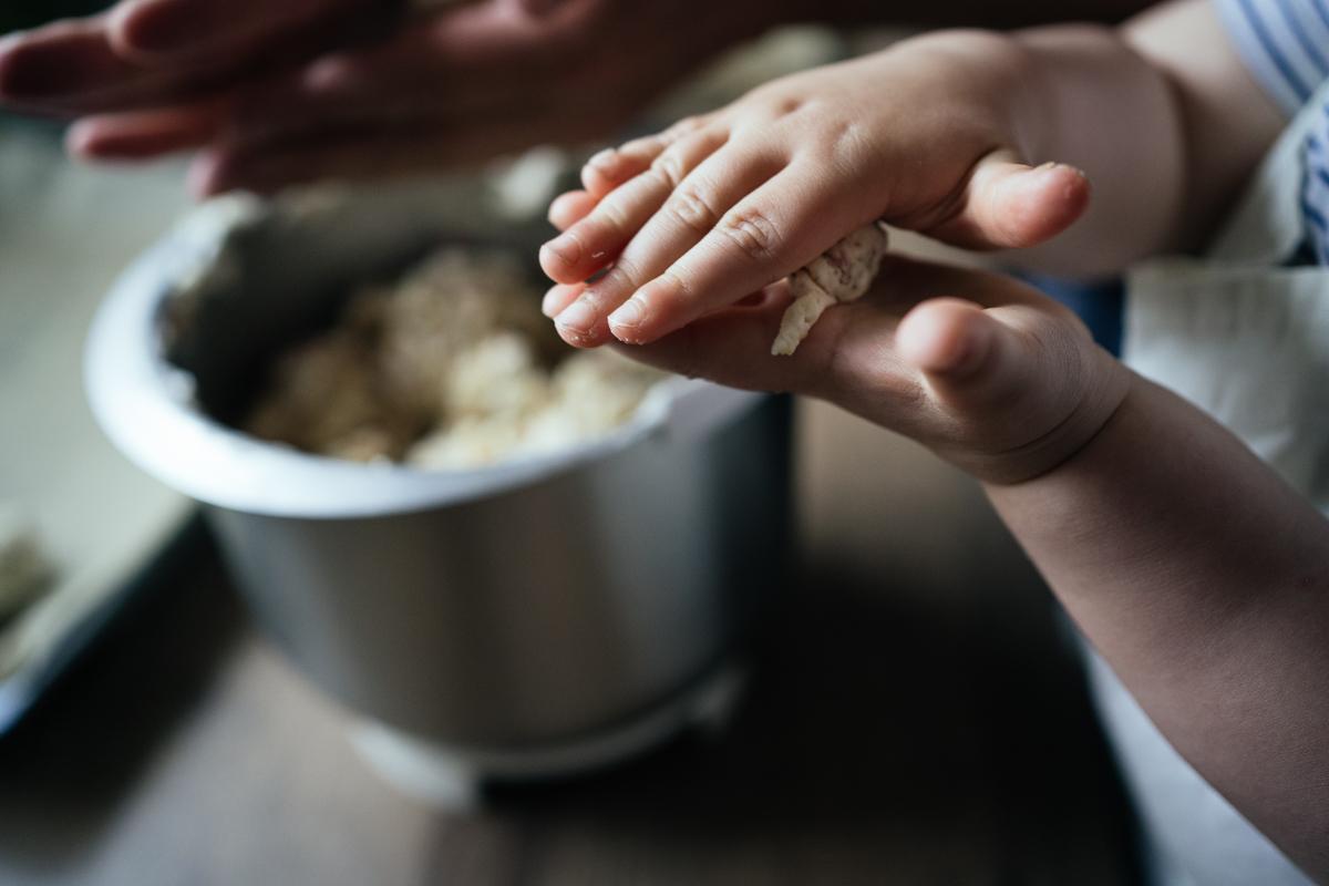 Backen mit Kindern, Fotos, KathrinStahl